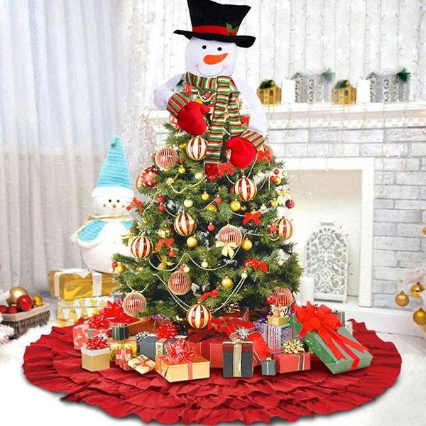 Idee per decorare l'albero di Natale n.09