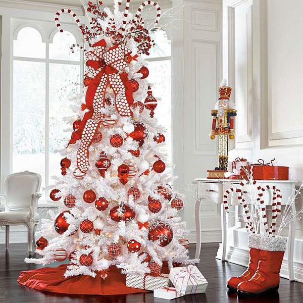 Idee per decorare l'albero di Natale n.10
