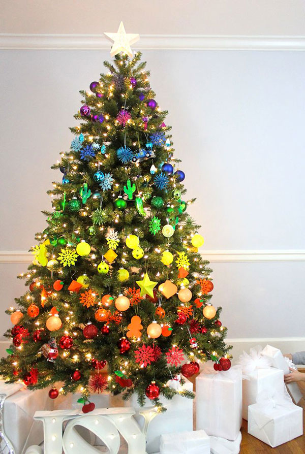 Idee per decorare l'albero di Natale n.12