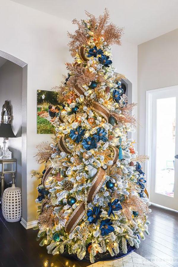 Idee per decorare l'albero di Natale n.13