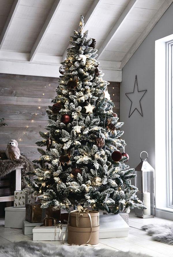 Idee per decorare l'albero di Natale n.14