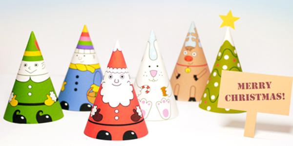 Come creare Babbo Natale ed i suoi amici di carta