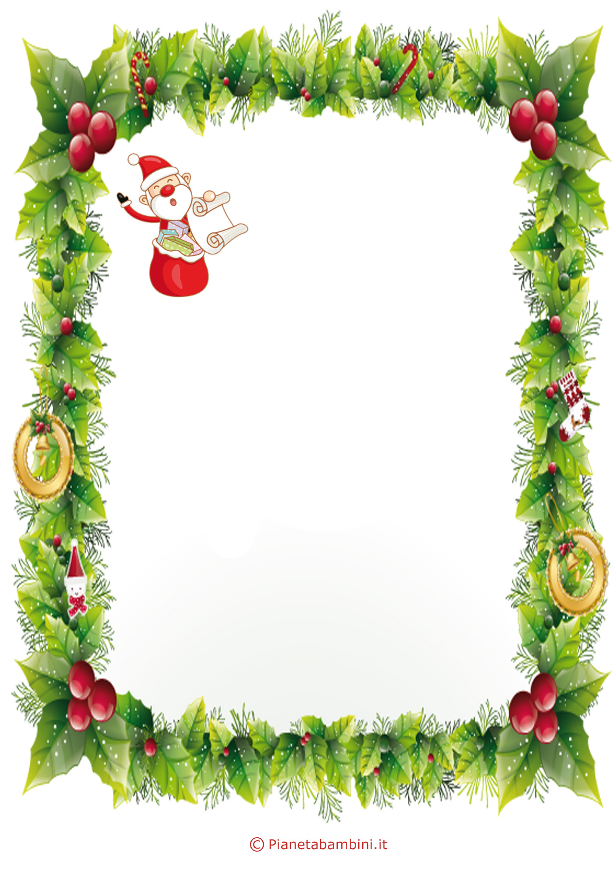 Immagine della lettera a Babbo Natale n 4