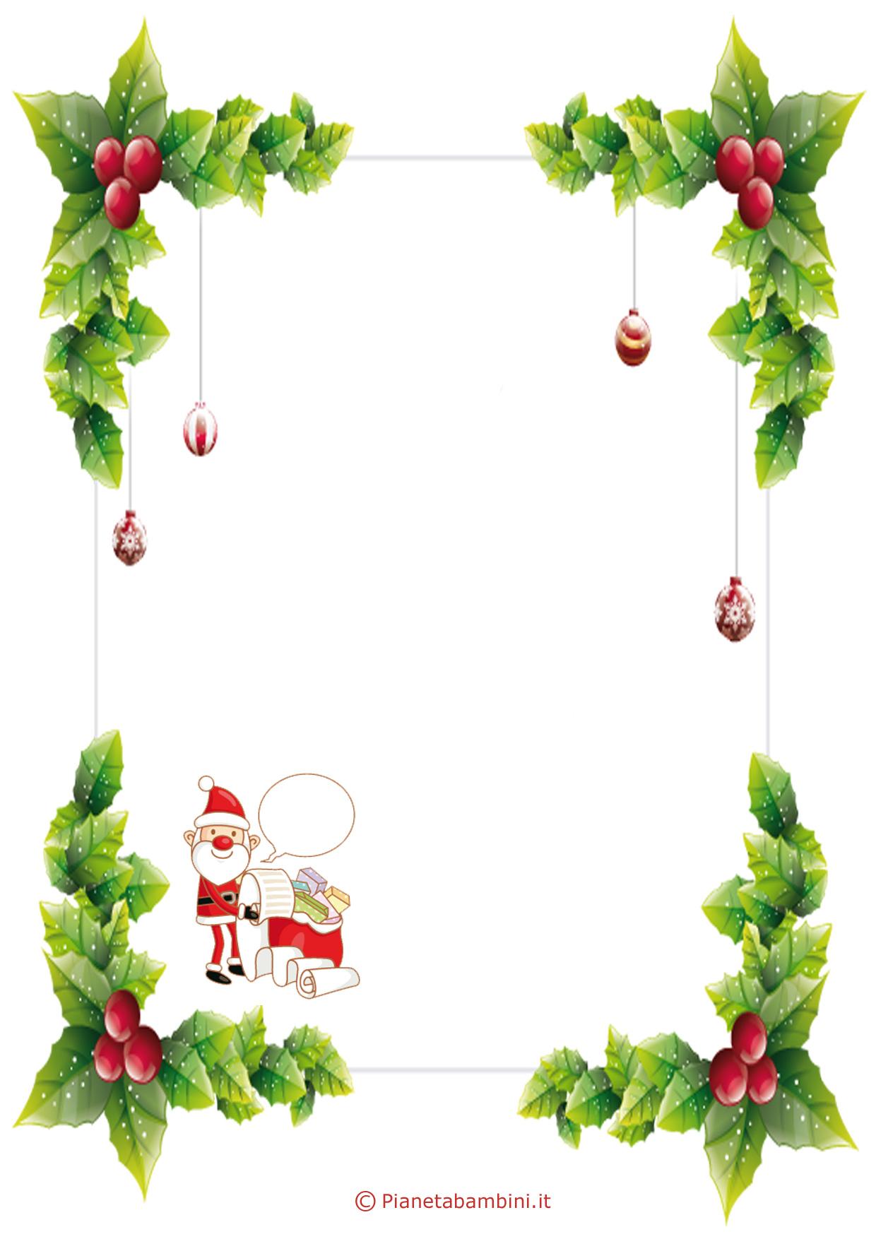 Immagine della lettera a Babbo Natale n 5