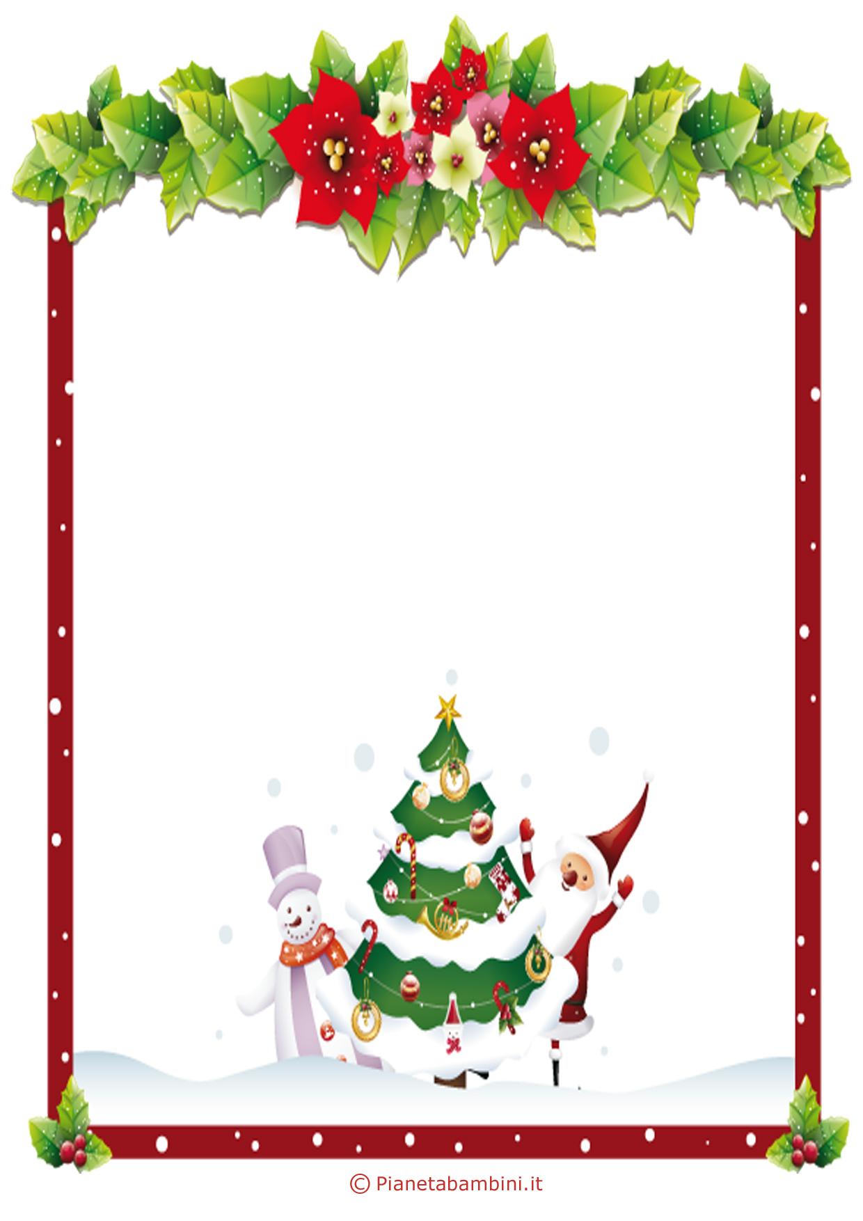 Modelli di lettera a babbo natale da stampare gratis - Babbo natale porta i regali ai bambini ...