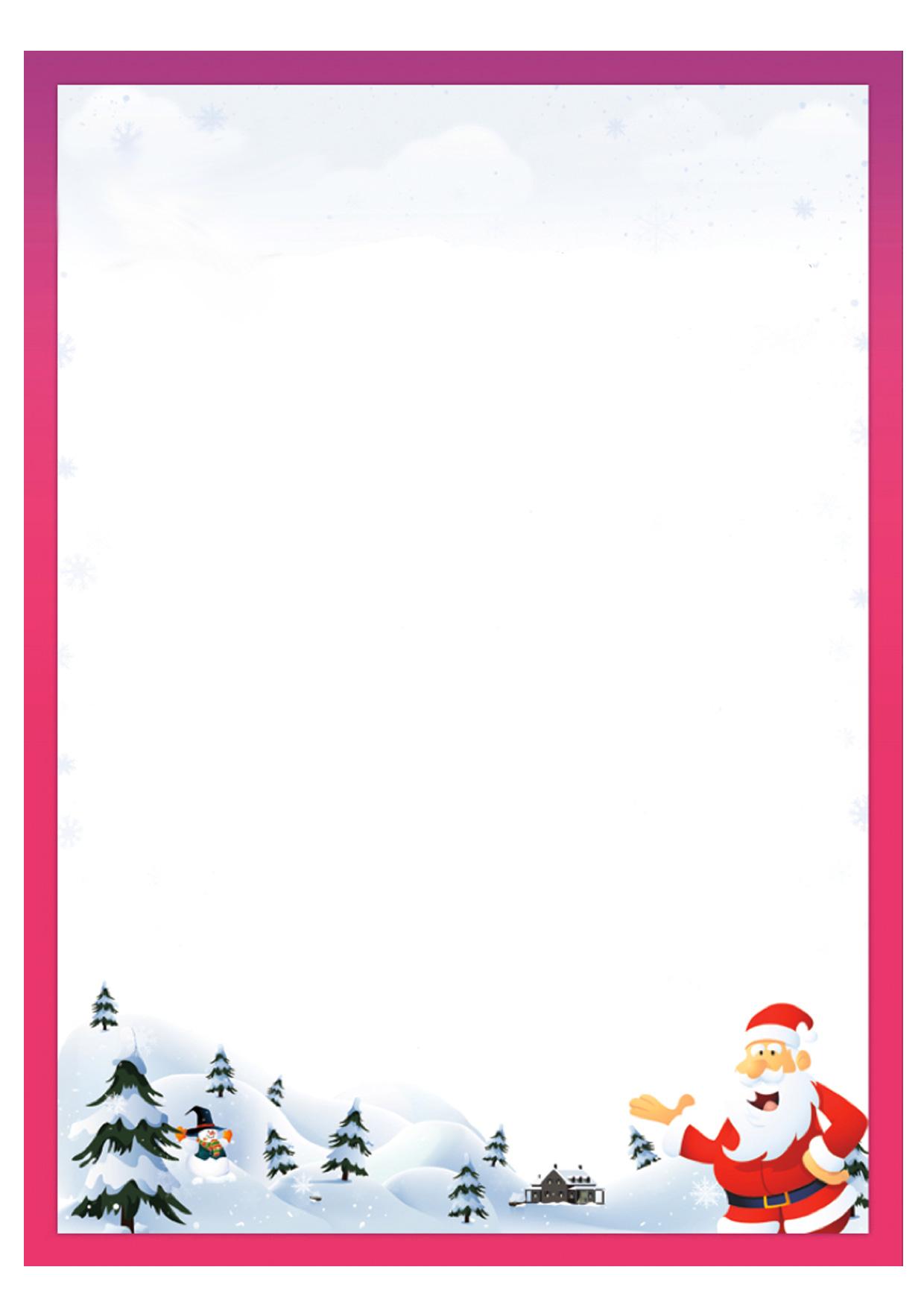 Modelli Di Lettera A Babbo Natale Da Stampare Gratis Pianetabambiniit