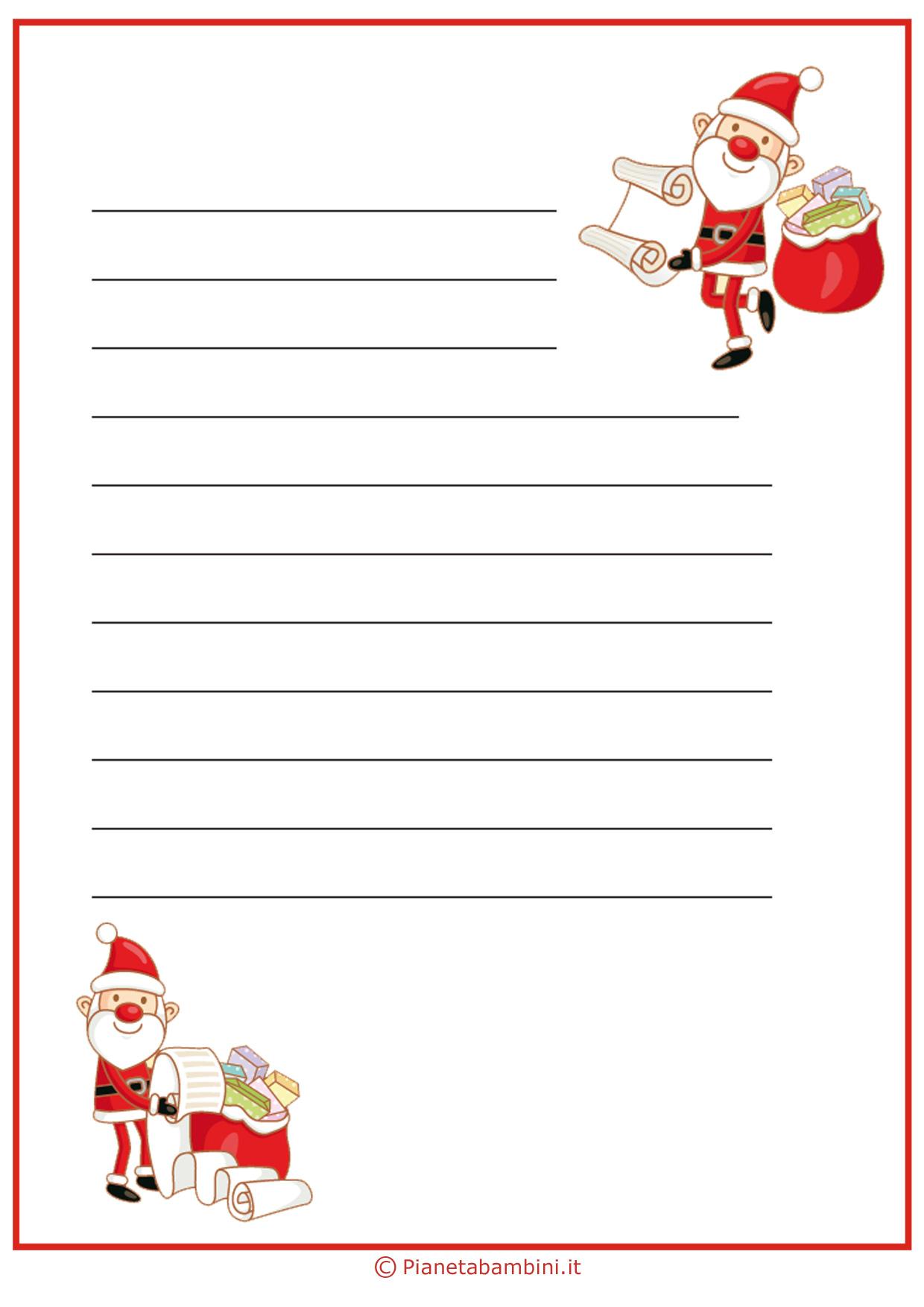Immagine della lettera a Babbo Natale n 10
