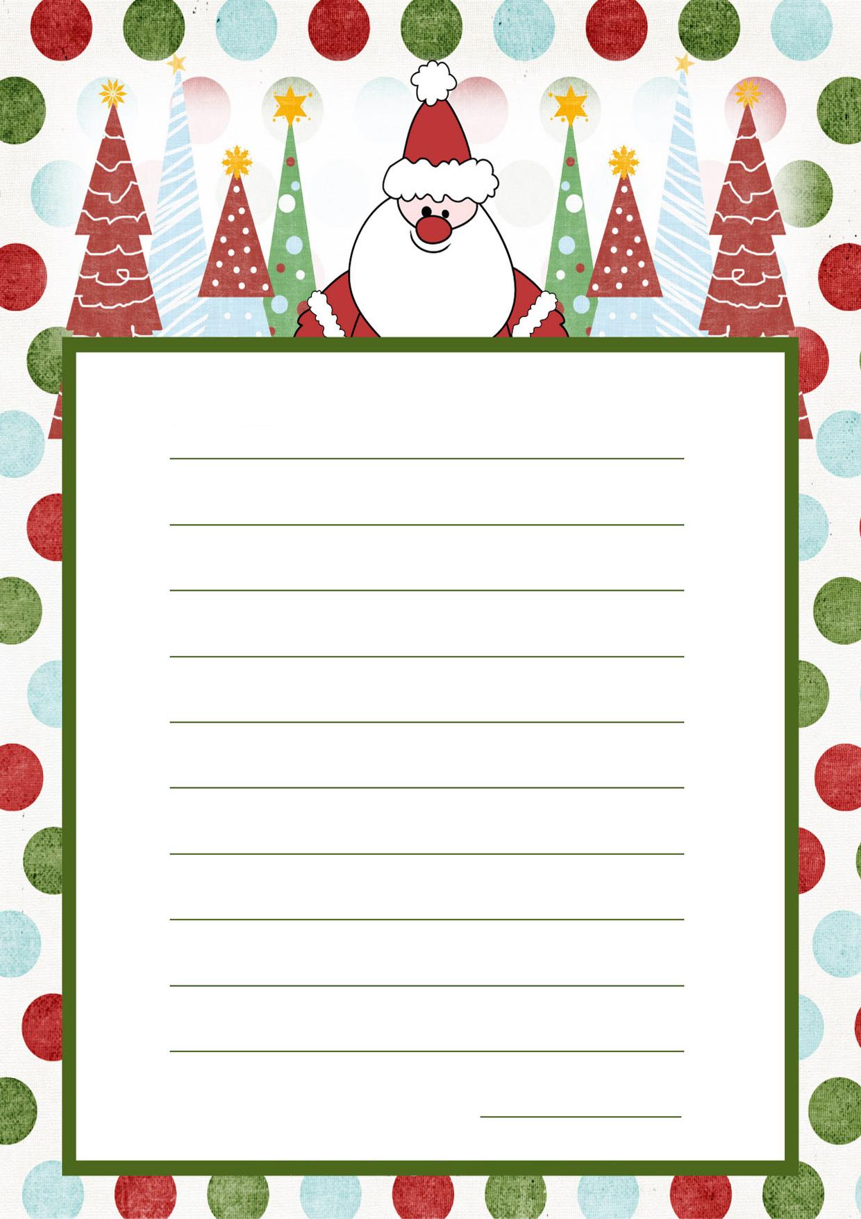 Immagine della lettera a Babbo Natale n 11