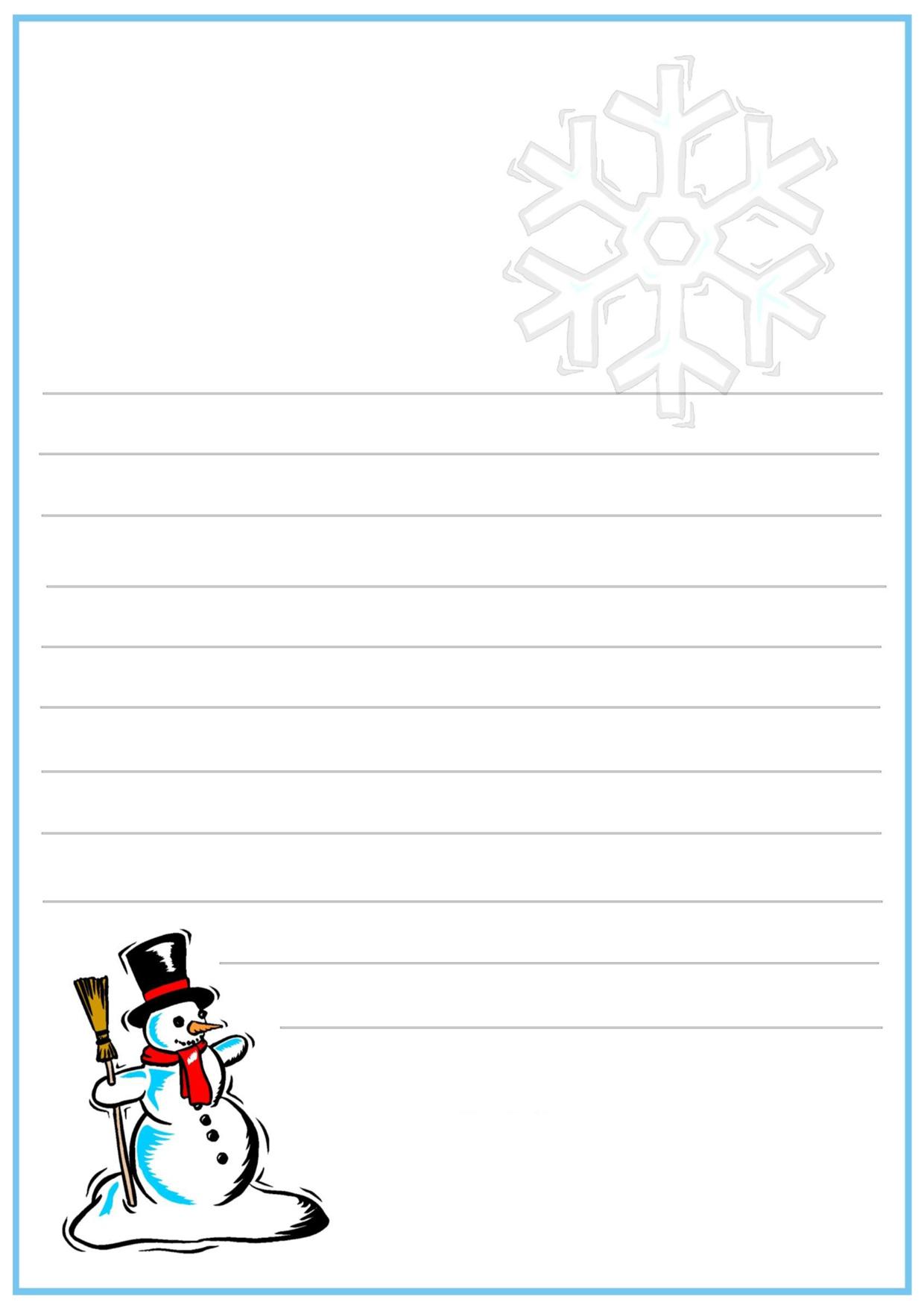 Immagine della lettera a Babbo Natale n 12