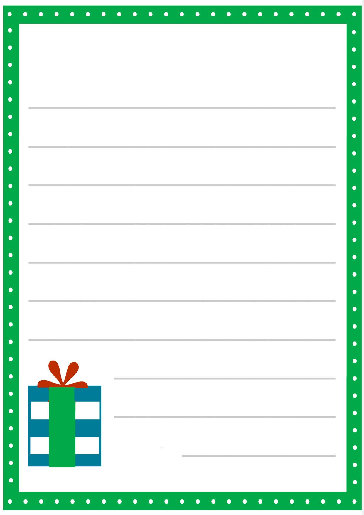 Immagine della lettera a Babbo Natale n 13