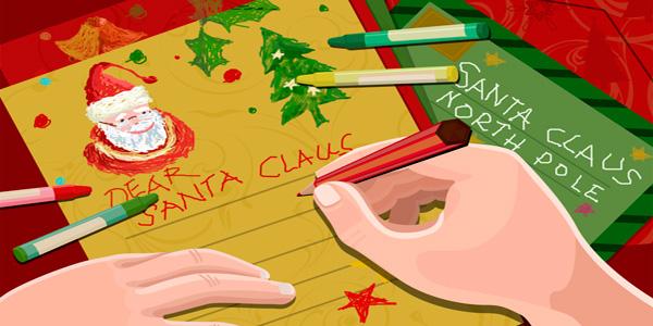 Lettera di Babbo Natale da stampare