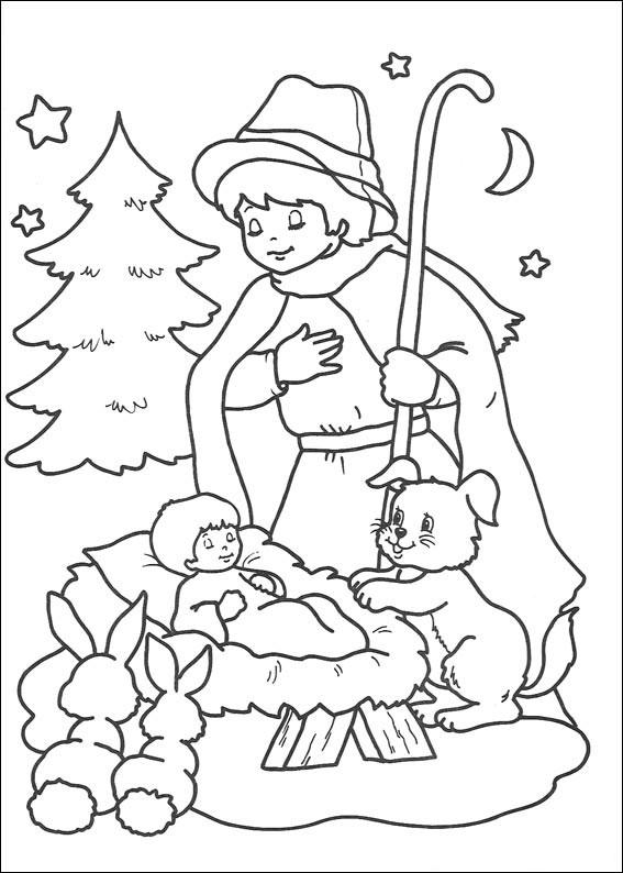 Disegni di natale da stampare e colorare per bambini