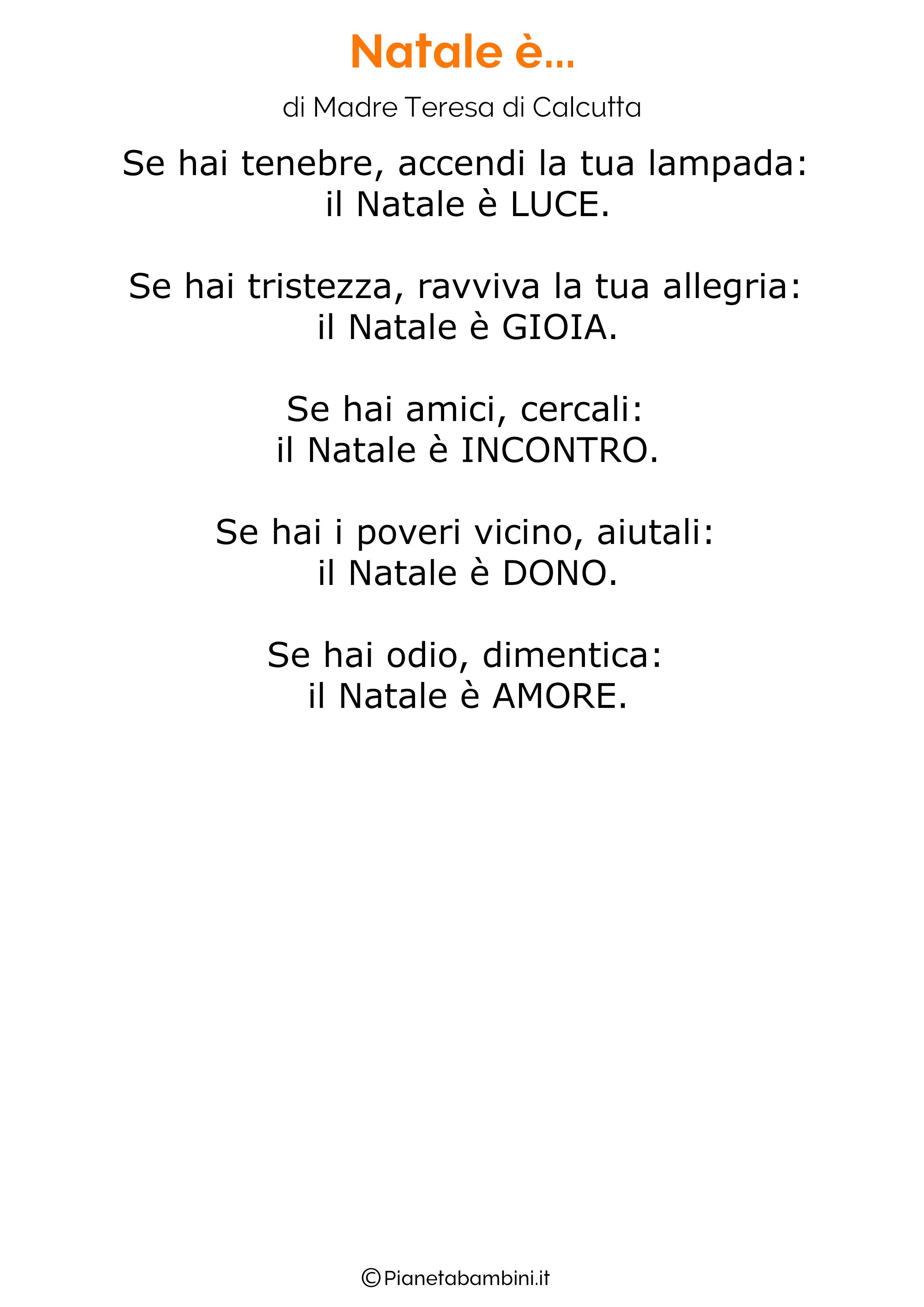 Poesie Di Natale Di Autori Famosi Per Bambini.45 Poesie Di Natale Per Bambini Pianetabambini It