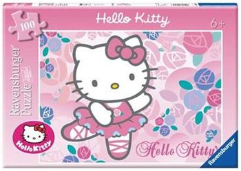 Immagine del puzzle di Hello Kitty da 100 pezzi