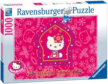Puzzle Hello Kitty principessa indiana 1000 pezzi