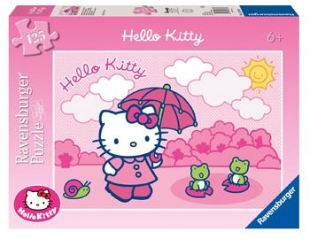 Immagine del puzzle di Hello Kitty da 125 pezzi
