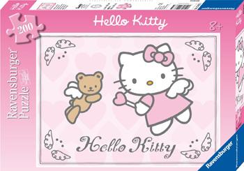 Immagine del puzzle di Hello Kitty da 200 pezzi