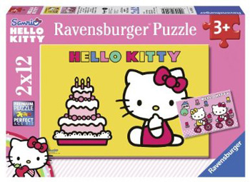 Immagine del puzzle di Hello Kitty 2x12