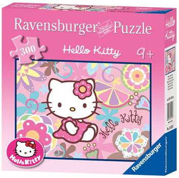 Immagine del puzzle di Hello Kitty da 300 pezzi