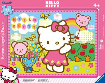 Immagine del puzzle di Hello Kitty da 31 pezzi