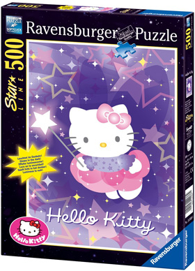 Immagine del puzzle di Hello Kitty da 500 pezzi