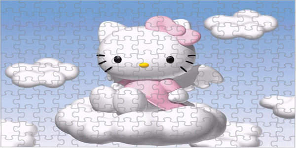 Puzzle di Hello Kitty per bambini