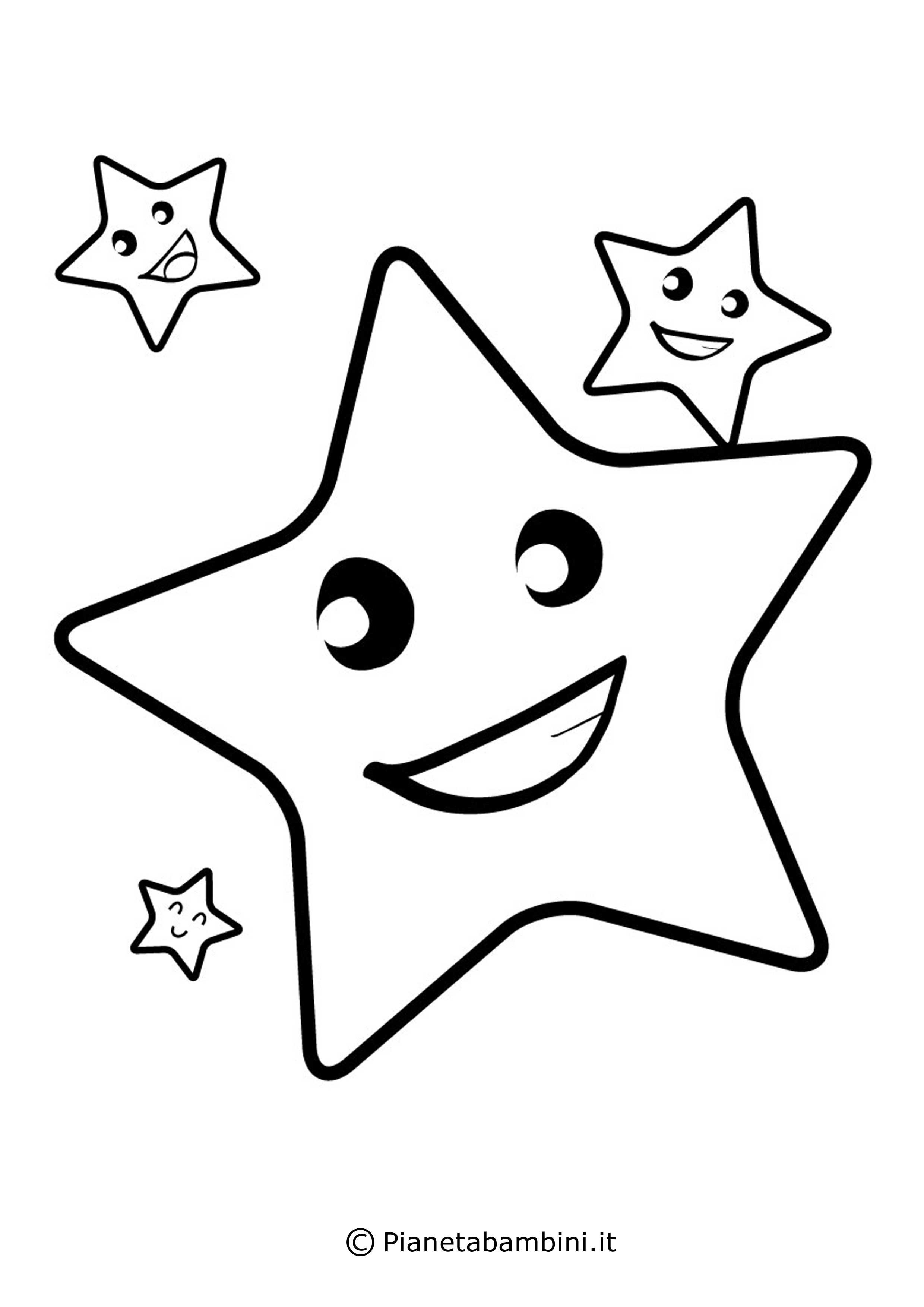 Disegno Stella Di Natale Da Colorare.Disegni Da Colorare Stella Portalebambini