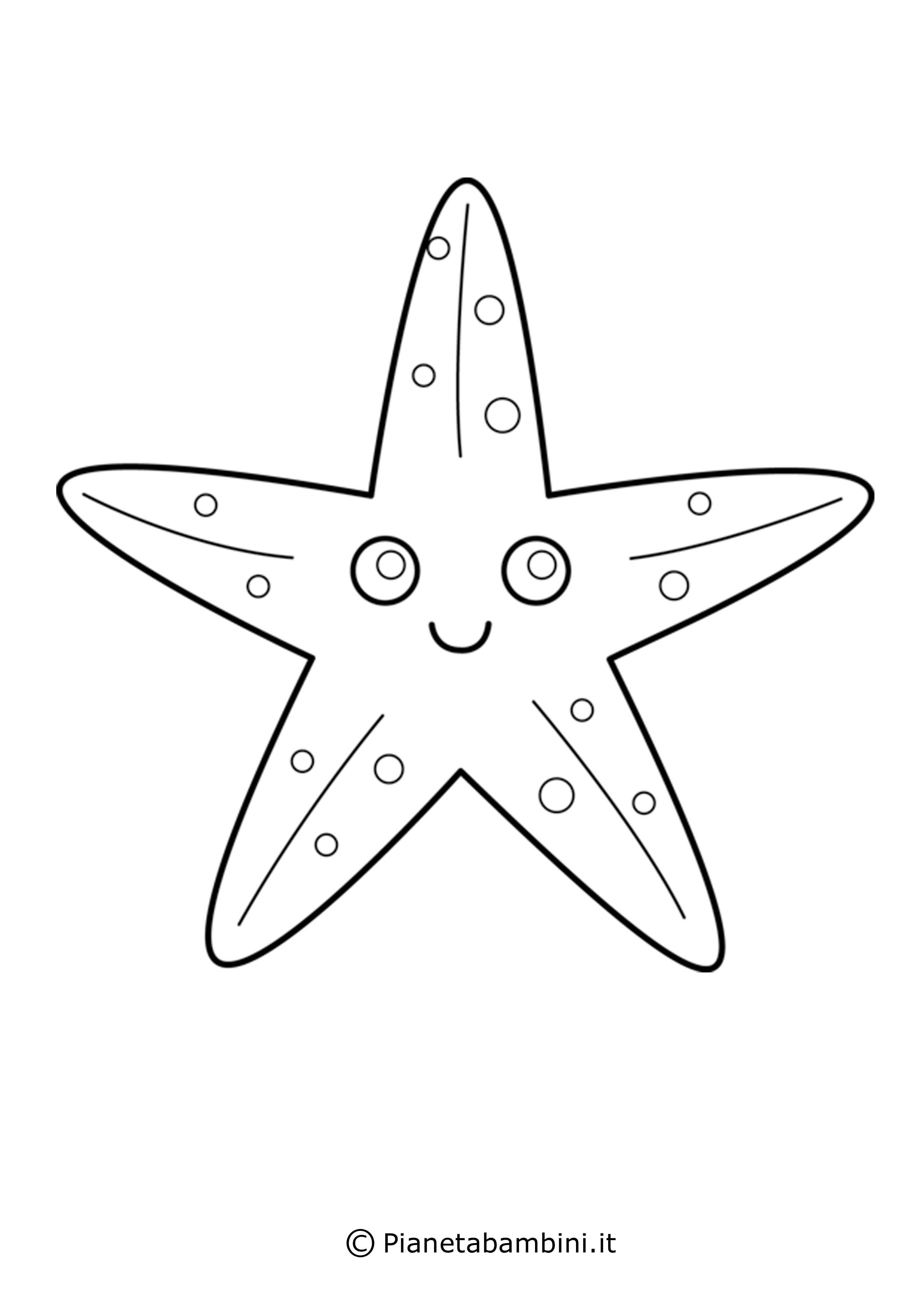 Stella marina sorridente
