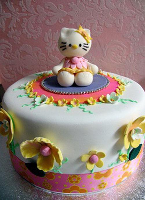 Foto della torta di Hello Kitty n.01