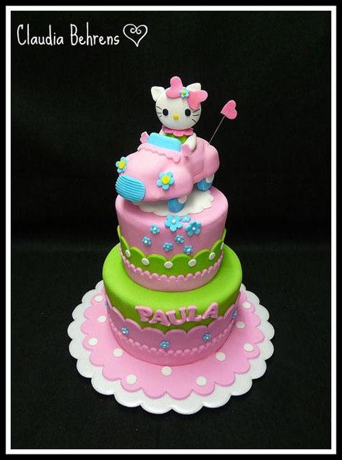 Foto della torta di Hello Kitty n.04