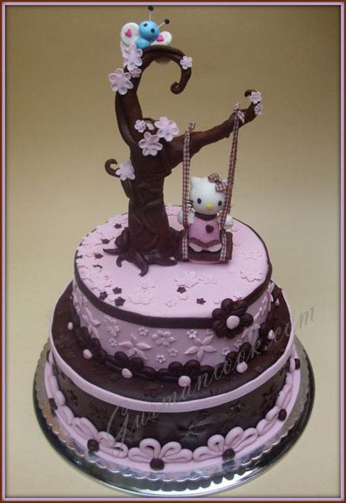 Foto della torta di Hello Kitty n.05