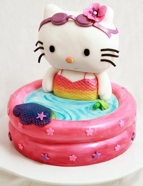 Foto della torta di Hello Kitty n.07