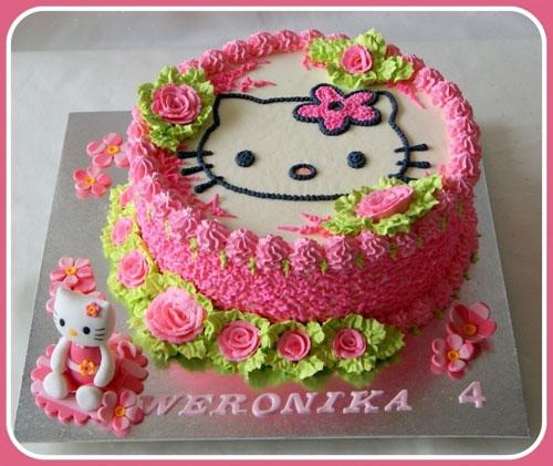 Foto della torta di Hello Kitty n.09