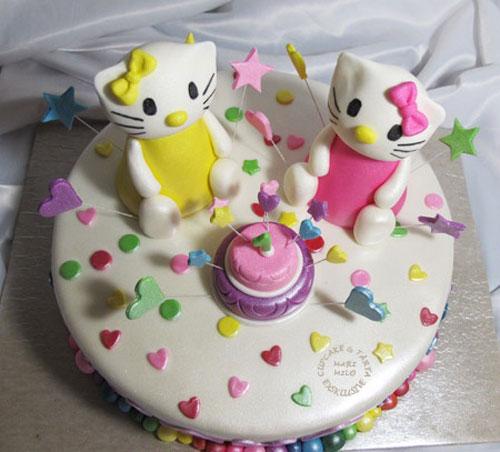 Foto della torta di Hello Kitty n.10