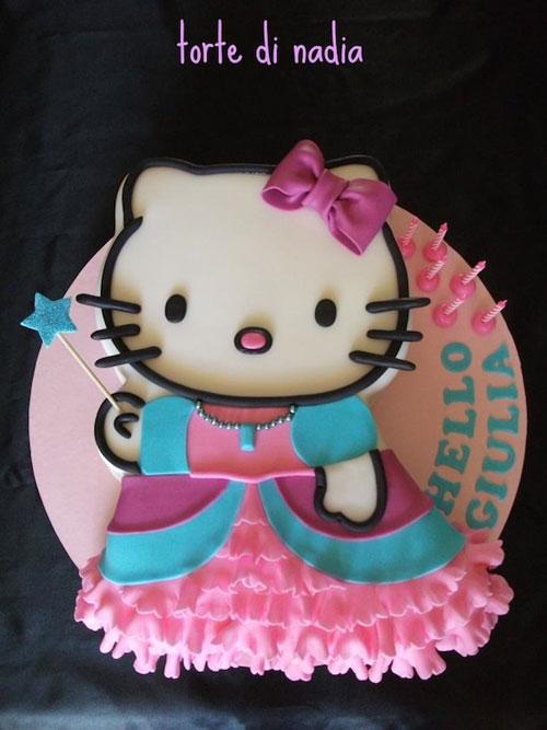 Foto della torta di Hello Kitty n.12