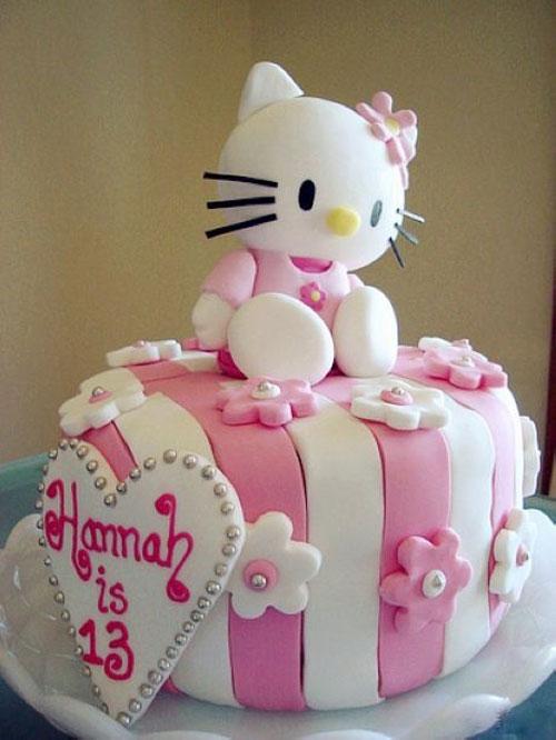 Foto della torta di Hello Kitty n.16