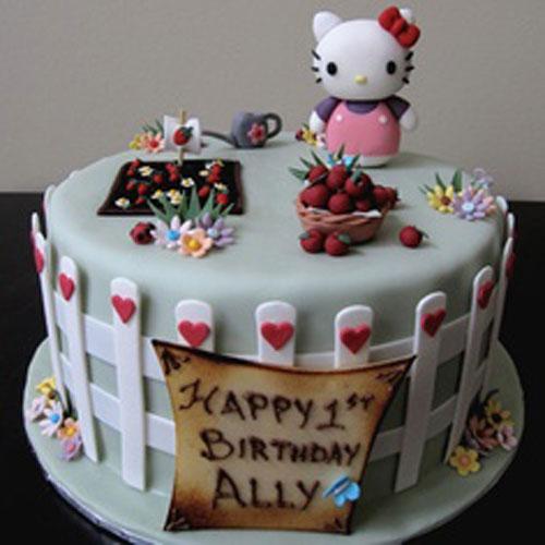 Foto della torta di Hello Kitty n.17
