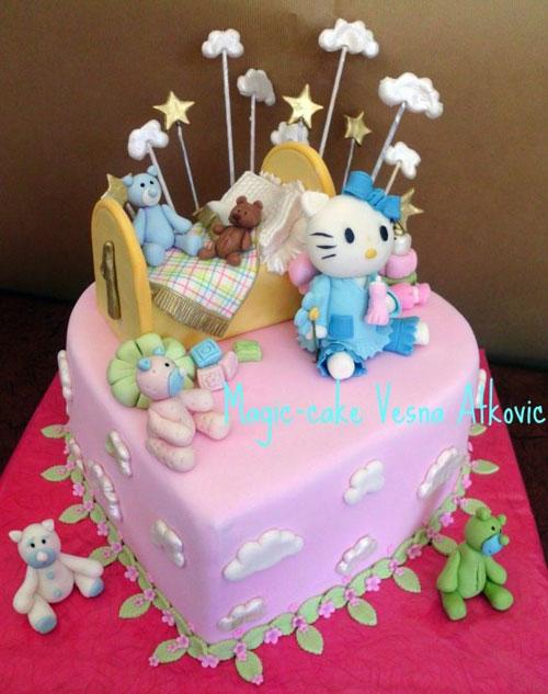Foto della torta di Hello Kitty n.18