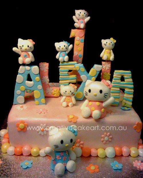 Foto della torta di Hello Kitty n.19