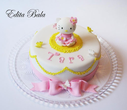 Foto della torta di Hello Kitty n.21