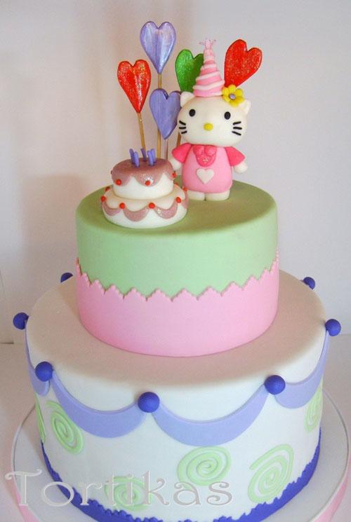 Foto della torta di Hello Kitty n.22