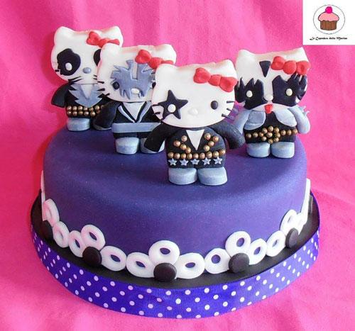 Foto della torta di Hello Kitty n.23