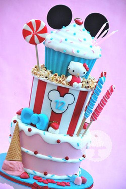 Foto della torta di Hello Kitty n.24