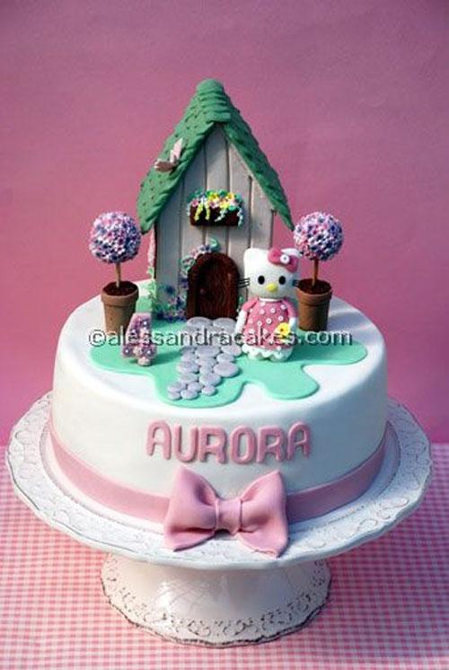 Foto della torta di Hello Kitty n.25