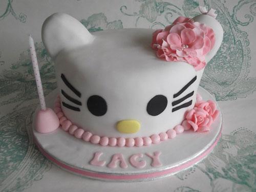 Foto della torta di Hello Kitty n.27