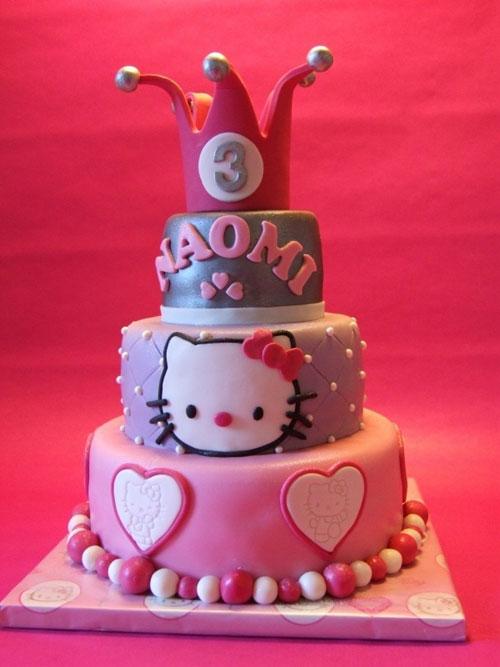 Foto della torta di Hello Kitty n.30