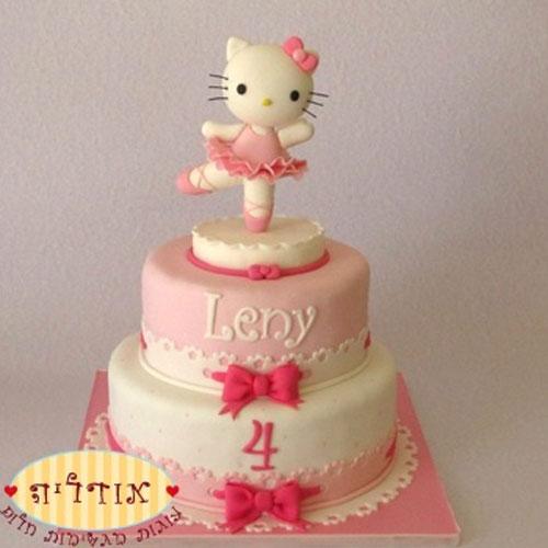 Foto della torta di Hello Kitty n.32