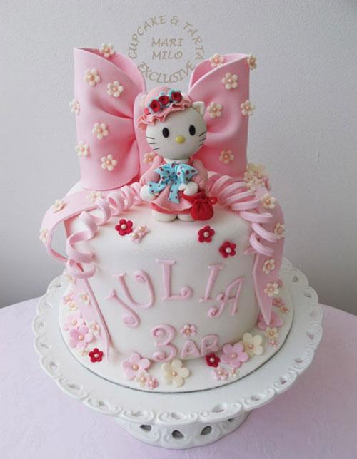 Foto della torta di Hello Kitty n.35