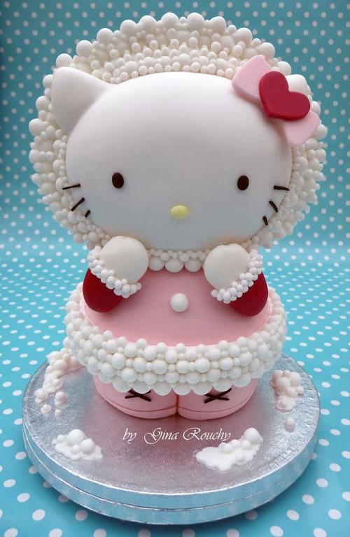 Foto della torta di Hello Kitty n.36