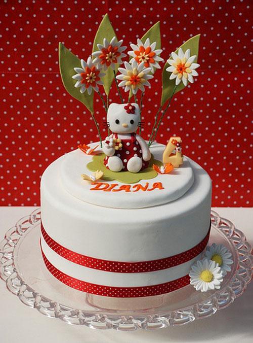 Foto della torta di Hello Kitty n.38